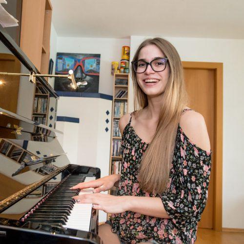 Seit sie acht Jahre alt ist, spielt Daria Schuricht Klavier. O. Lerch