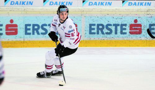 Siegtreffer gegen Weißrussland: Dominic Zwerger erzielte in seinem sechsten Länderspiel für Österreichs A-Auswahl sein drittes Tor.gepa