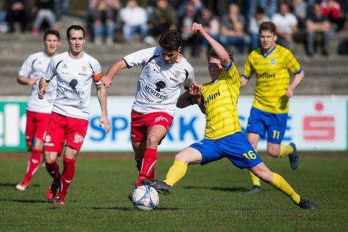 Spannung ist garantiert, wenn Hohenems im VFV-Cup auf Dornbirn trifft.VN