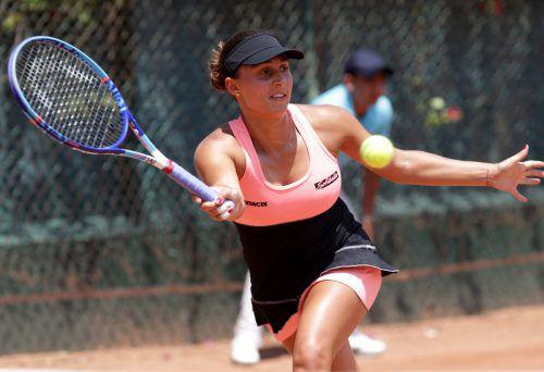Tamira Paszek bleib bei ihrer Rückkehr auf die internationale Tennisbühne sowohl im Einzel als auch im Doppel ohne Satzgewinn.GEPA