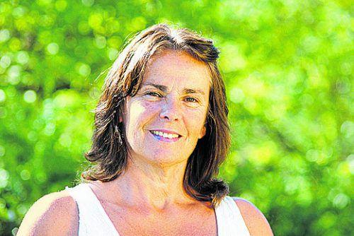 Ulrike Güdel informiert in Eichenberg über die Zeit der Wechseljahre. FV