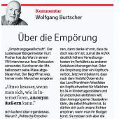 Verkehrsstau in Hohenems