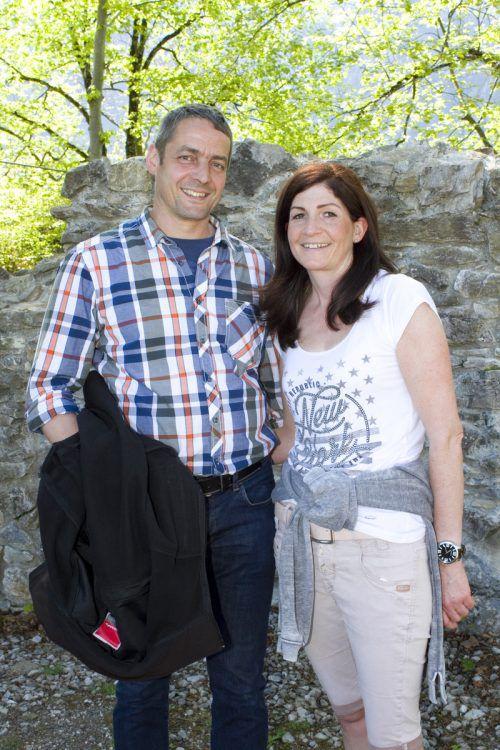 Werkhofleiter Andreas Mathis und Margit.