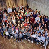 Stadt Dornbirn ehrt über 170 Sportler