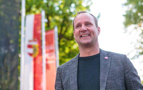 1. Mai mit Neos-Chef Matthias Strolz. apa
