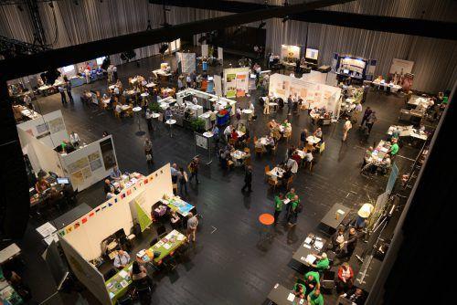 2016 kamen insgesamt rund 1000 Besucher zum 68. Deutschen Genealogentag ins Bregenzer Festspielhaus.