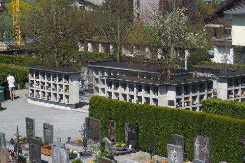 60 neue Urnengräber am Frastanzer Friedhof sind Teil eines Gesamtkonzepts. HE