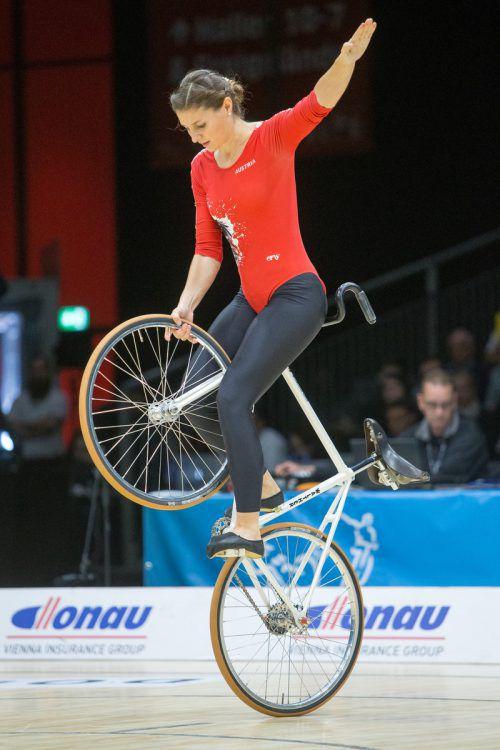 2017-Weltmeisterin Adriana Mathis siegte beim Ems-Cup.VN/Sams
