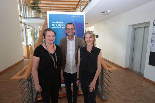 Akademie-Gründer: Renate Huber (l.), Bertram Strolz und Brigitte Wiesner-Kulovits.