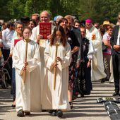 Ein Bild mit Bischof Benno