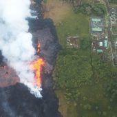 Kraftwerk auf Hawaii wegen Lava stillgelegt