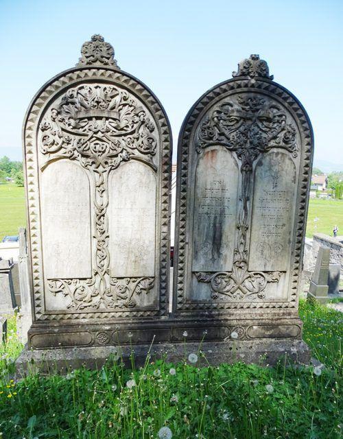 Auf dem Jüdischen Friedhof werden seit Anfang des 17. Jahrhunderts jüdische Mitbürger begraben. tf