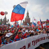 Protestaktionen am Maifeiertag