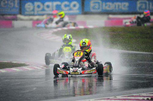 Bambini-Kartpilot Kiano Blum holt den zweiten Titel in dieser Saison.S. GARDA KARTING