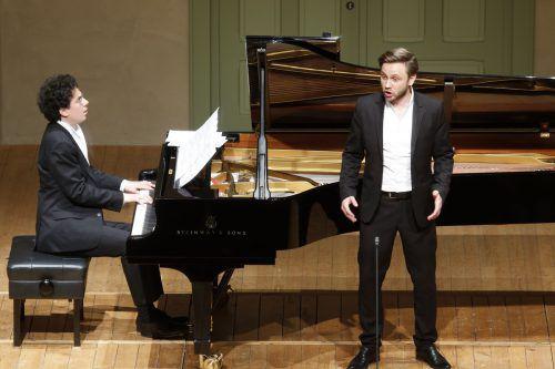 """Bariton Rafael Fingerlos sang """"Die schöne Müllerin"""".Veranstalter"""