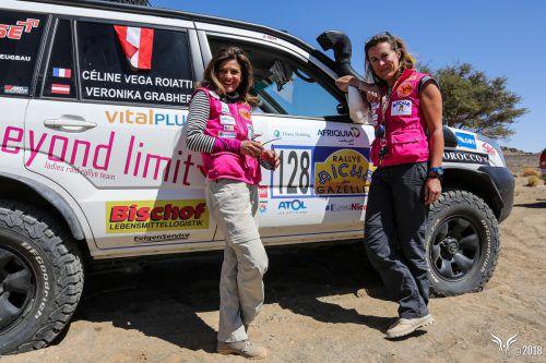 """Bei der Rallye """"Aicha des Gazelles"""" ging es für Veronika Grabher durch die marokkanische Wüste. Agentur Maïenga / Rallye Aïcha des Gazelles"""