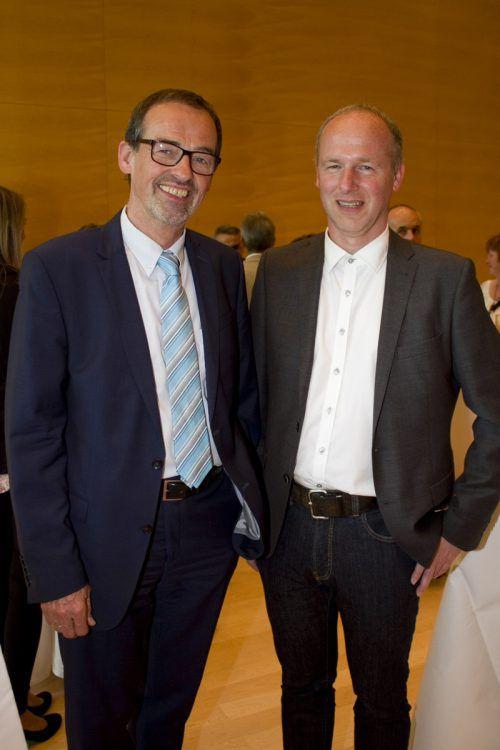 Bildungssprecher Christoph Hinteregger (l.) und Udo Messner (Doppelmayr).
