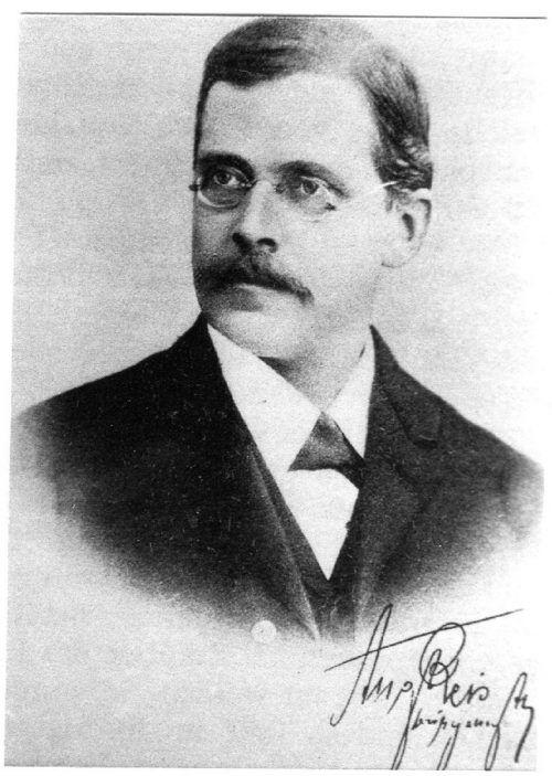 Bürgermeister August Reis hatte viele Ideen für seine Heimatgemeinde.