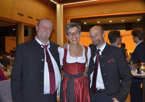 Chorleiter Benno Winder und Sänger Christoph Metzler.