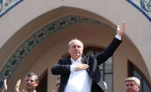 CHP-Spitzenkandidat Muharrem Ince will ein neutraler Präsident sein. Reuters