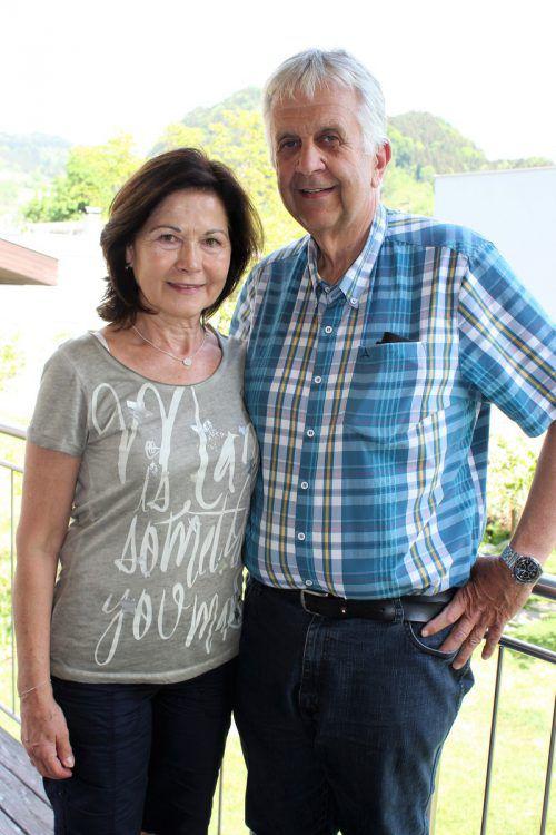 Christine und Richard Pösel zeigten Zivilcourage. VN/js