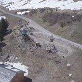 Landhaus samt Pkw-Lift im Bau