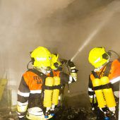 Feuer im Schlinser Jagdberg