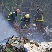 Überlebende bei Flugzeugabsturz in Kuba