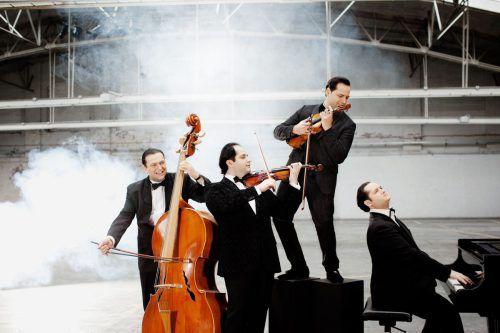 Das Janoska Ensemble gastiert am Sonntag mit dem neuen Programm in Thüringen. JANOSKA ENSEMBLE
