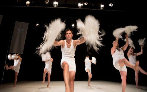 """Das Stück """"Die wunderbare Zerstörung des Mannes"""" wurde gestern Abend vom Aktionstheater im Rahmen des Festivals Bregenzer Frühling uraufgeführt. VN/Paulitsch"""