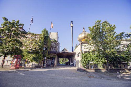 Das von Friedensreich Hundertwasser gestaltete Rueff-Gebäude. FA/Georg Alfare
