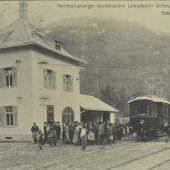 Mit dem Zug ins Montafon