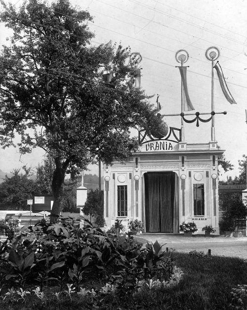 Der erste Vortrag mit lebendigen Bildern wurde 1900 in einem Urania-Theater in Dornbirn gezeigt.                              uraniatheater/vorarlberger landesmuseum