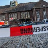 Messerattacke in deutschem Zug: Polizei erschießt Angreifer