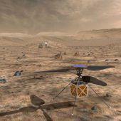 Mini-Hubschrauber soll Mars erkunden