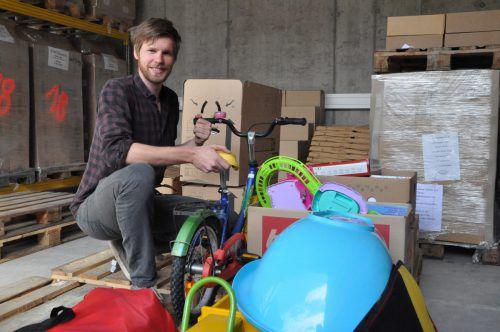 Der Organisator für den Umweltverband des Landes Vorarlberg, Aaron Oberscheider, freute sich über den Zuspruch der Aktion. CM