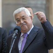 Abbas aus dem Spital entlassen