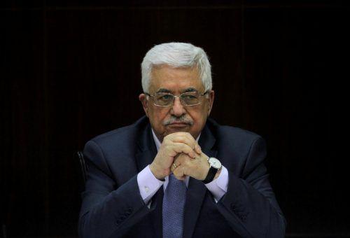 Der palästinensische Präsident Abbas nahm antisemitische Äußerungen zurück.RTS