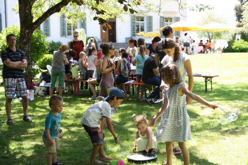 Der Park der Villa Falkenhorst gehört am Sonntag wieder ganz den Kindern. villa falkenhorst