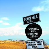 Beliebter Weg: der Poon Hill Trek