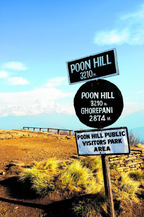 Der Poon Hill Trek ist auch fürungeübtere Bergsteiger geeignet.