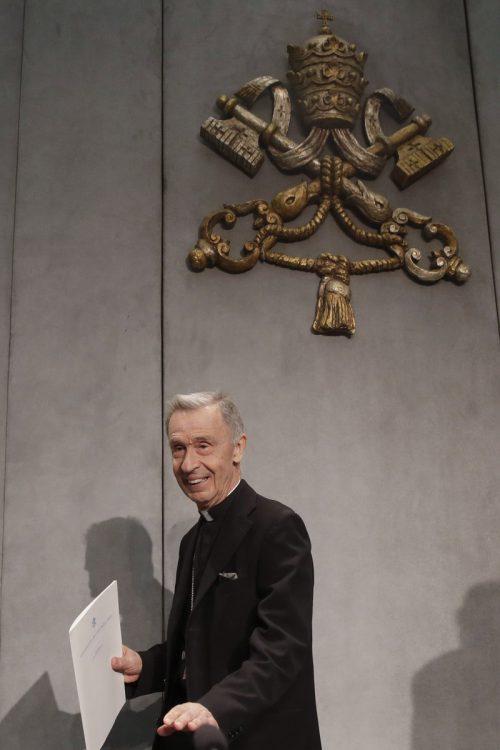 Der Präfekt der Glaubenkongregation, Erzbischof Luis Ladaria. AP