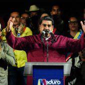 USA kündigen Sanktionen nach Sieg von Maduro an