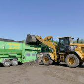 20 Tonnen Störstoffe aussortiert