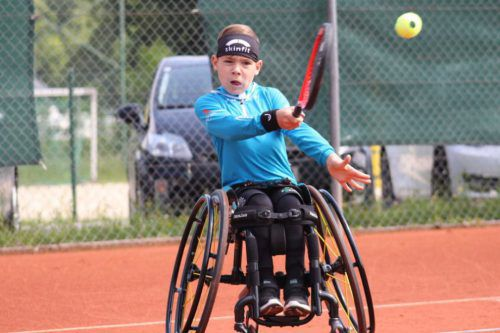 Der zehnjährige Maximilian Taucher sicherte sich bei der erstmals ausgetragenen Jugendmeisterschaft die Goldmedaille.Privat