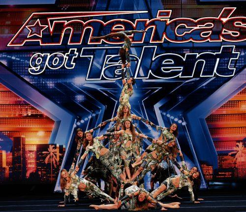 """Die Akrobatikgruppe Zurcaroh aus Vorarlberg begeisterte das Publikum und die Jury der US-Talenteshow """"America's got Talent""""."""