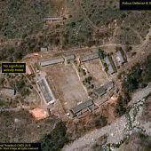 Kim lässt Atomgelände sprengen