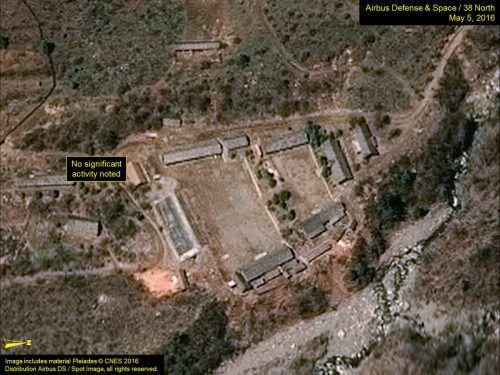 Die Anlage Punggye-ri im Nordosten des Landes soll unbrauchbar gemacht werden. In Punggye-ri hatte Nordkorea seine sechs Atomtests durchgeführt. reuters