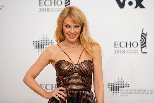 Die australische Sängerin feiert ihren 50. Geburtstag in London. afp