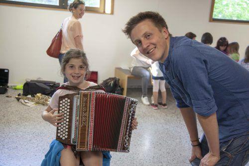 Die Auswahl an Instrumenten an der Musikschule Brandnertal ist groß.